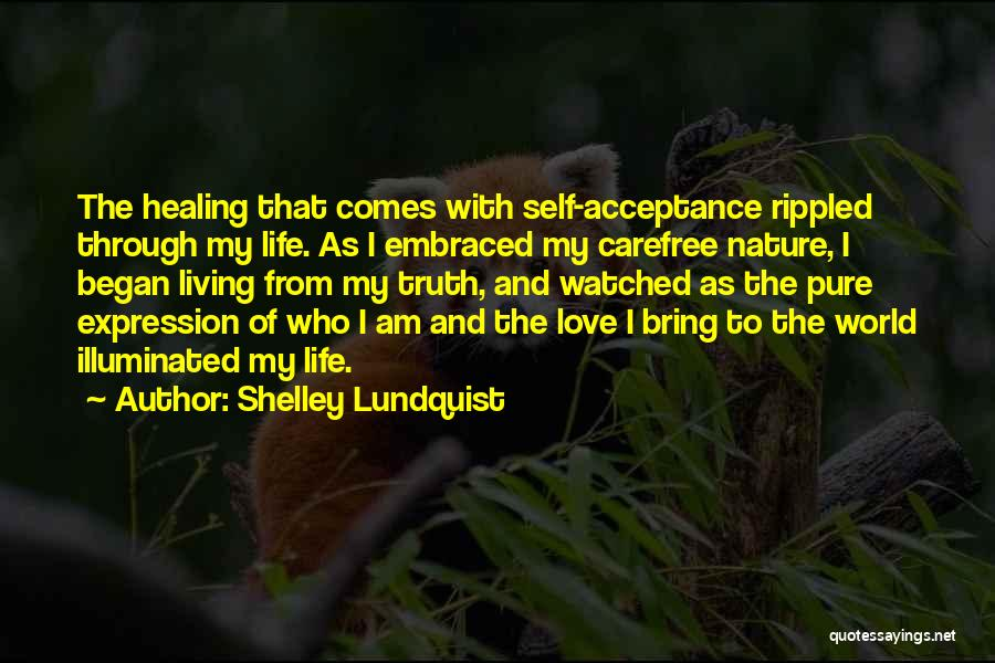 Surrender And Acceptance Quotes By Shelley Lundquist