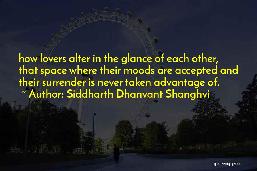 Surrender And Acceptance Quotes By Siddharth Dhanvant Shanghvi