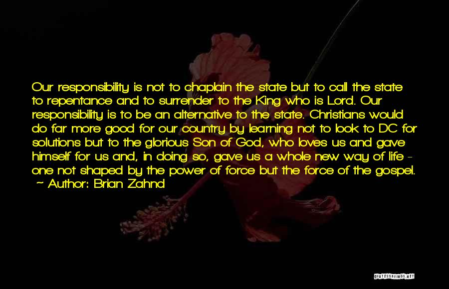 Surrender To God Quotes By Brian Zahnd