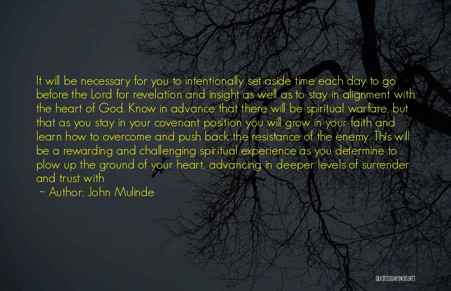 Surrender To God Quotes By John Mulinde