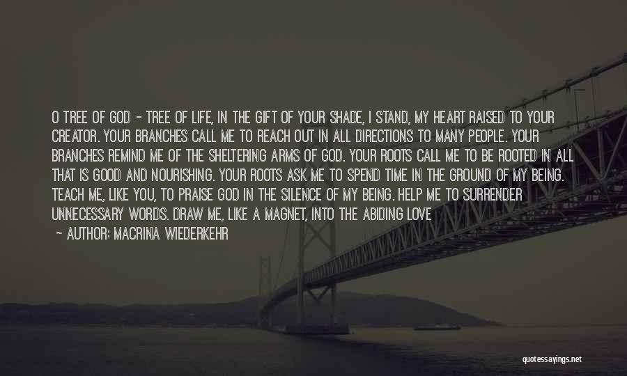 Surrender To God Quotes By Macrina Wiederkehr