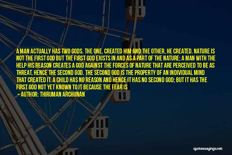 Surrender To God Quotes By Thiruman Archunan