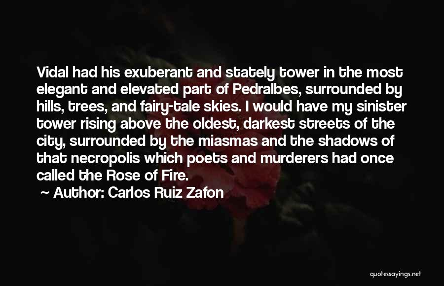 Surrounded By Trees Quotes By Carlos Ruiz Zafon