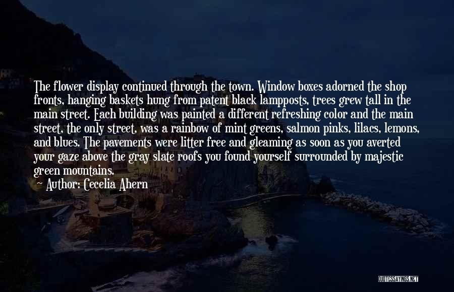 Surrounded By Trees Quotes By Cecelia Ahern
