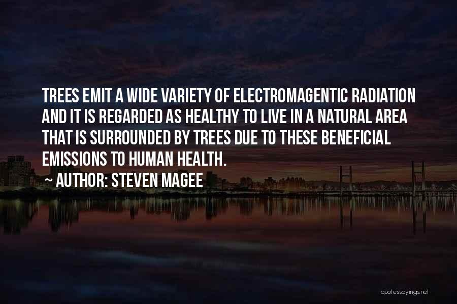 Surrounded By Trees Quotes By Steven Magee