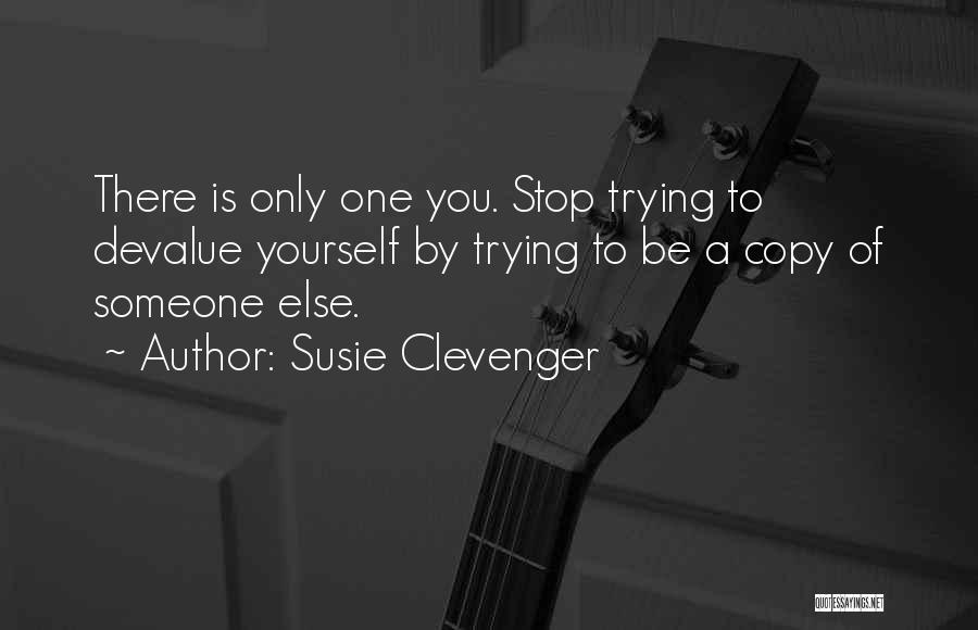 Susie Clevenger Quotes 1516266