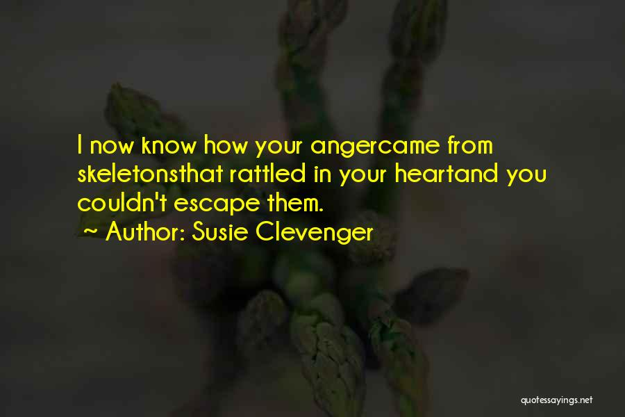 Susie Clevenger Quotes 879213