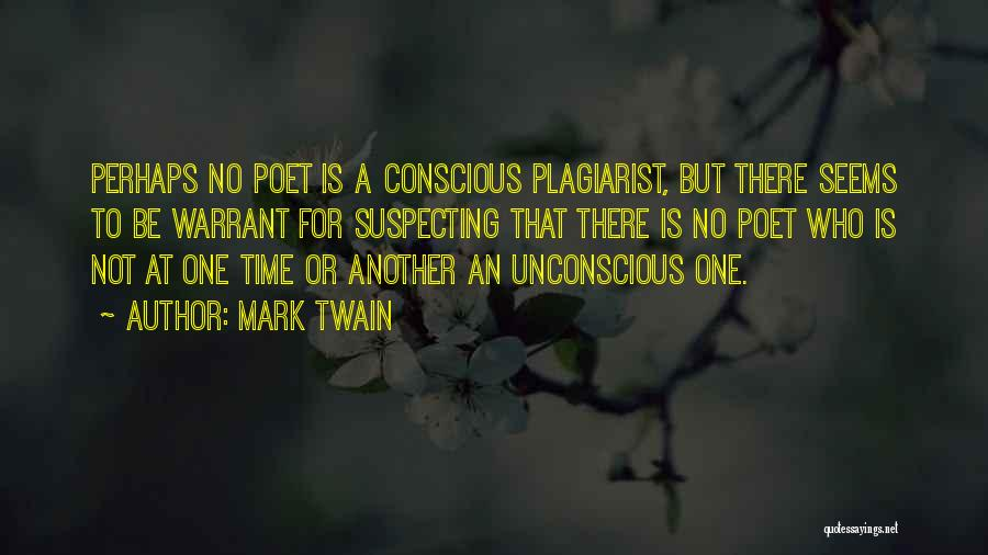Suspecting Me Quotes By Mark Twain