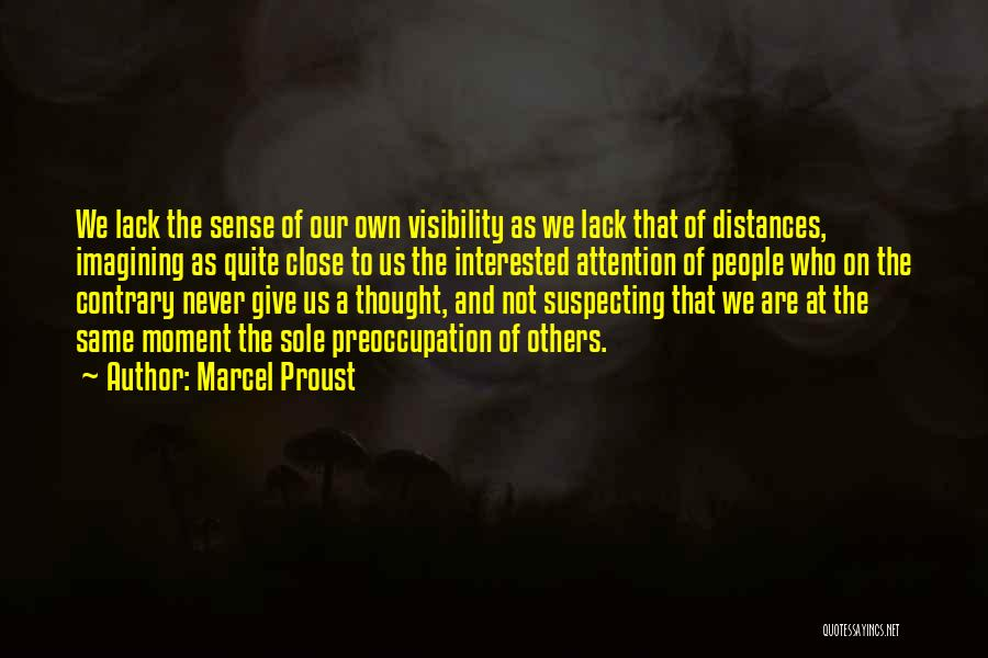 Suspecting Quotes By Marcel Proust