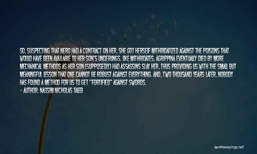 Suspecting Quotes By Nassim Nicholas Taleb