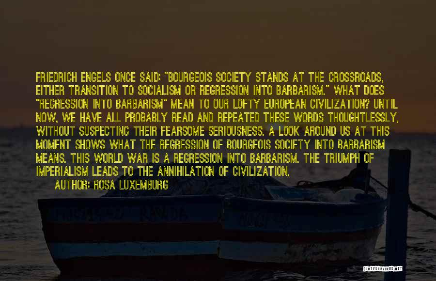 Suspecting Quotes By Rosa Luxemburg