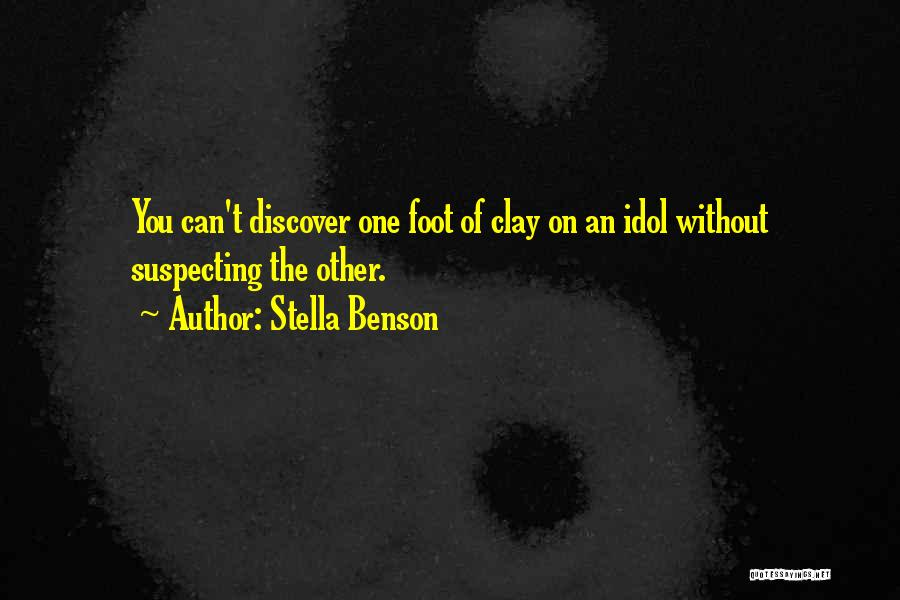 Suspecting Quotes By Stella Benson