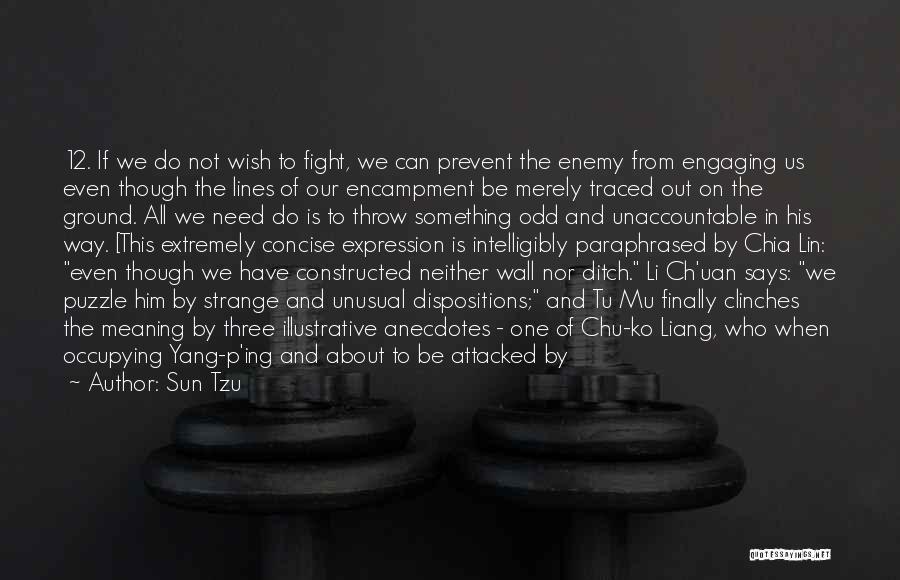 Suspecting Quotes By Sun Tzu