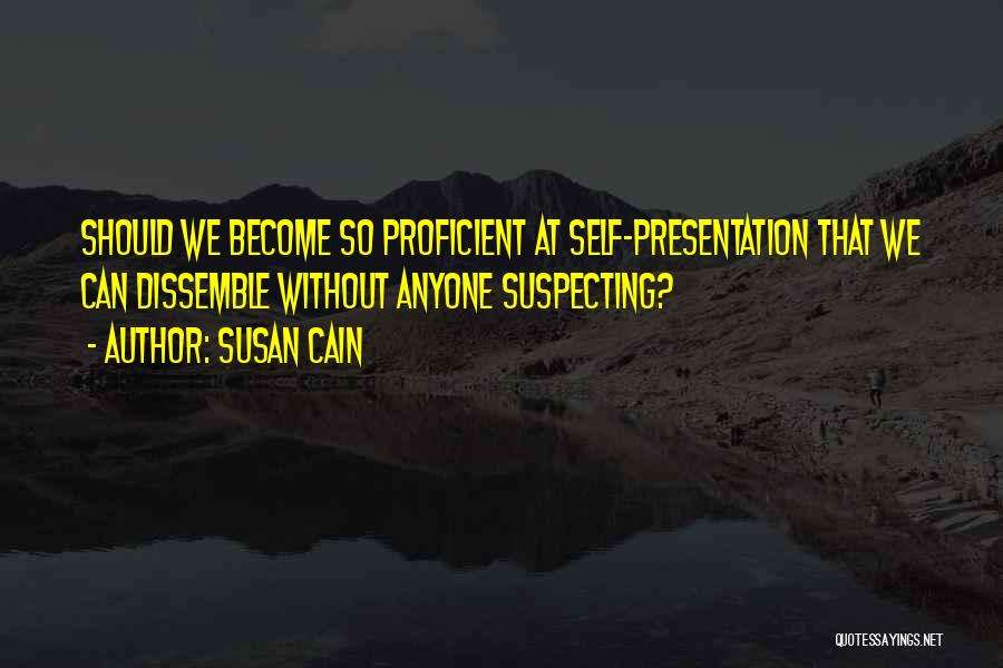 Suspecting Quotes By Susan Cain