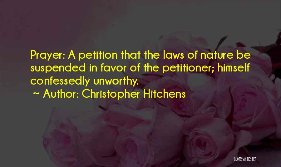Suspended Quotes By Christopher Hitchens