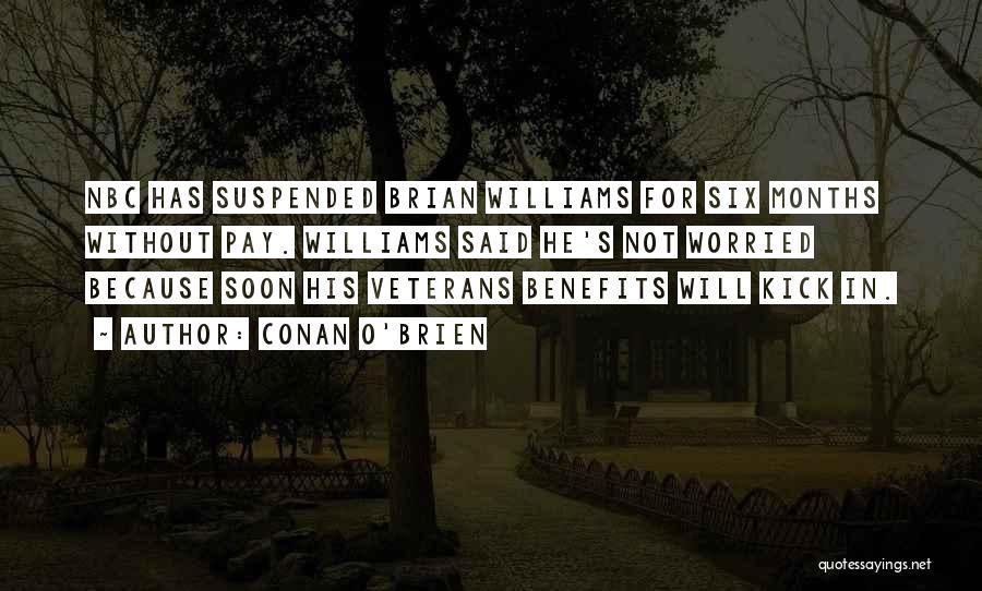 Suspended Quotes By Conan O'Brien