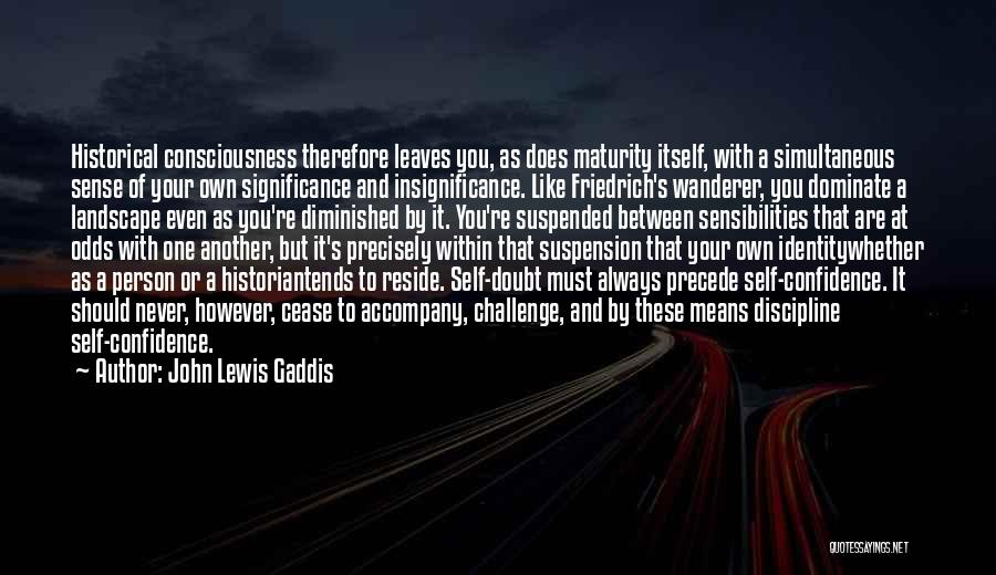 Suspended Quotes By John Lewis Gaddis