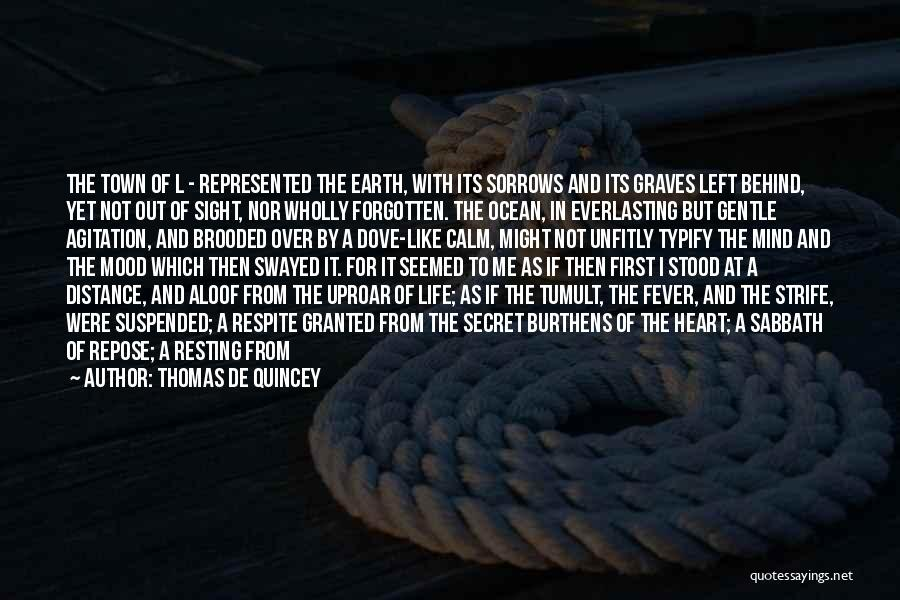 Suspended Quotes By Thomas De Quincey