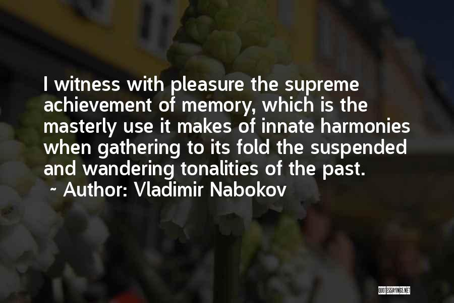 Suspended Quotes By Vladimir Nabokov