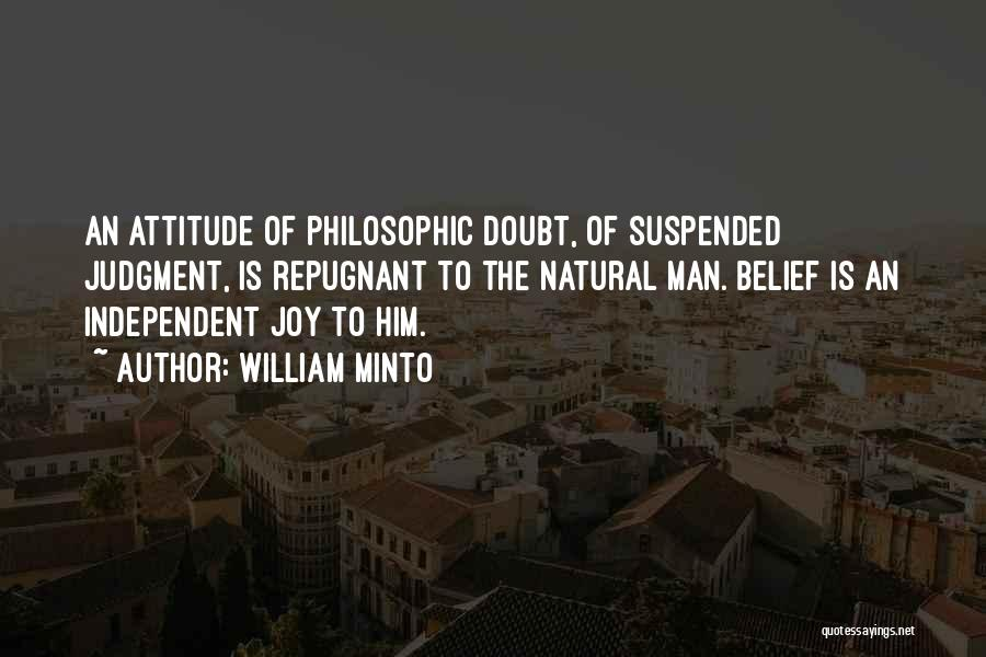 Suspended Quotes By William Minto