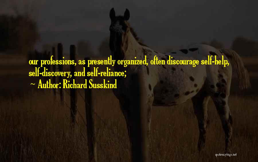Susskind Quotes By Richard Susskind