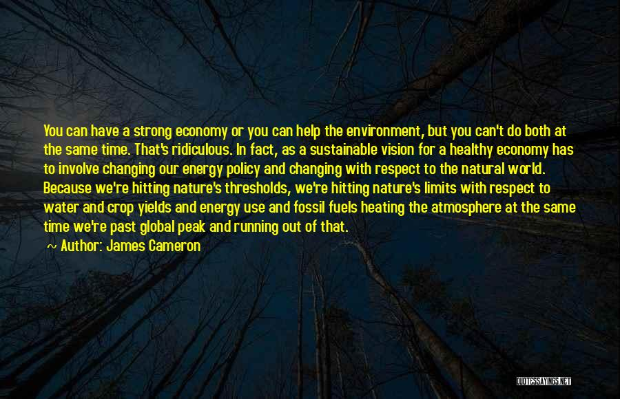 Sustainable Environment Quotes By James Cameron