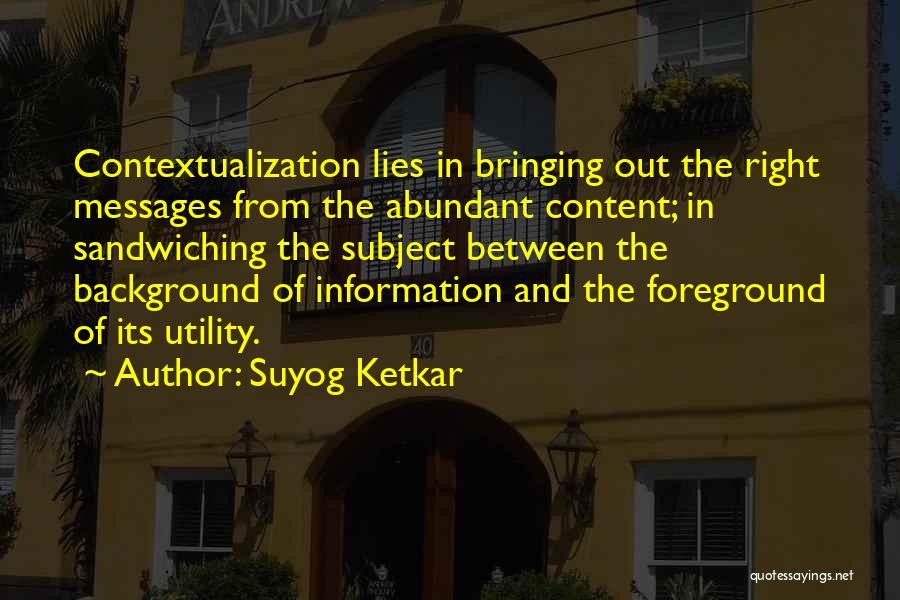 Suyog Ketkar Quotes 958653