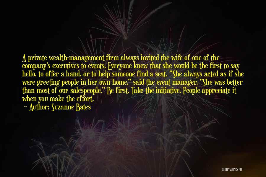 Suzanne Bates Quotes 1621436