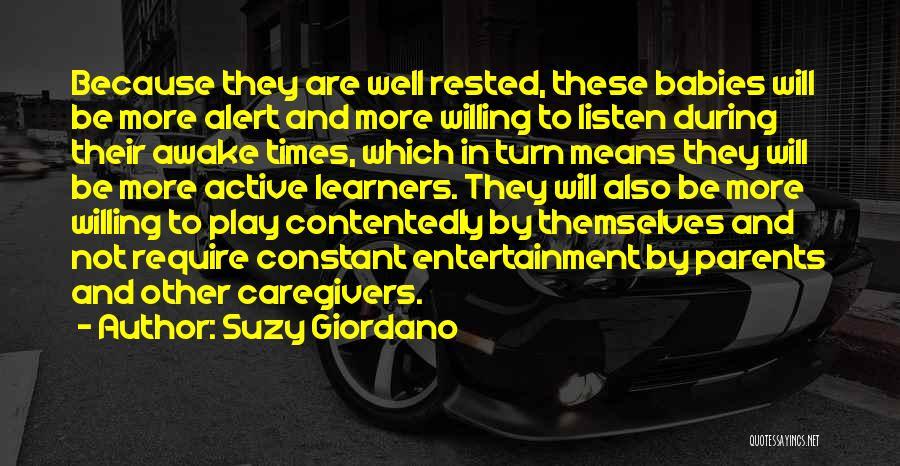 Suzy Giordano Quotes 262759