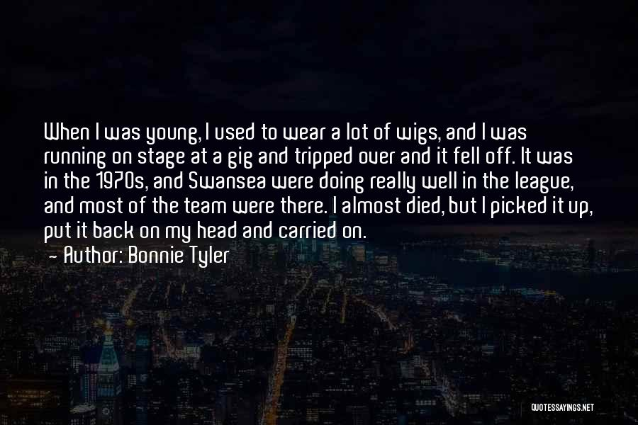 Swansea Quotes By Bonnie Tyler