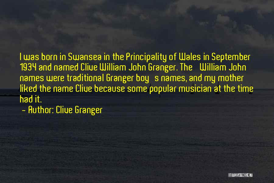 Swansea Quotes By Clive Granger