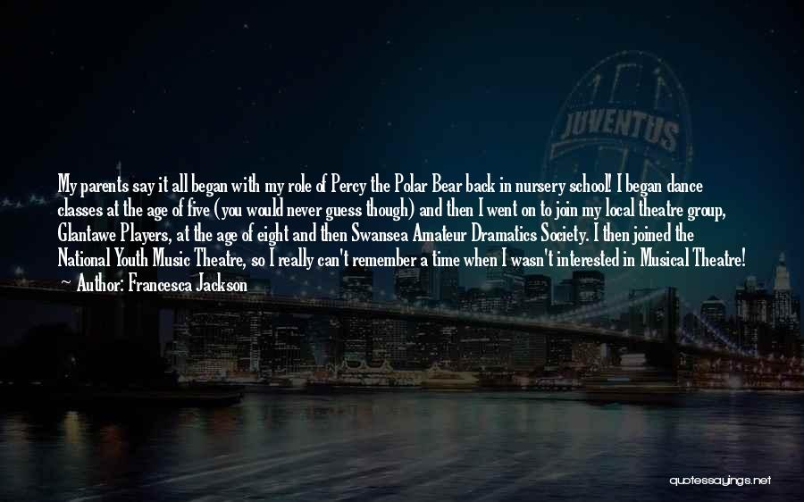 Swansea Quotes By Francesca Jackson