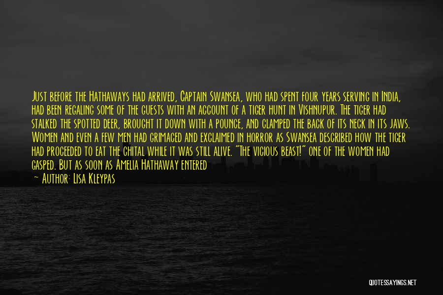 Swansea Quotes By Lisa Kleypas