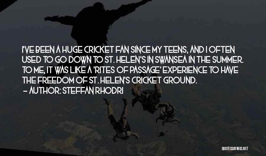 Swansea Quotes By Steffan Rhodri