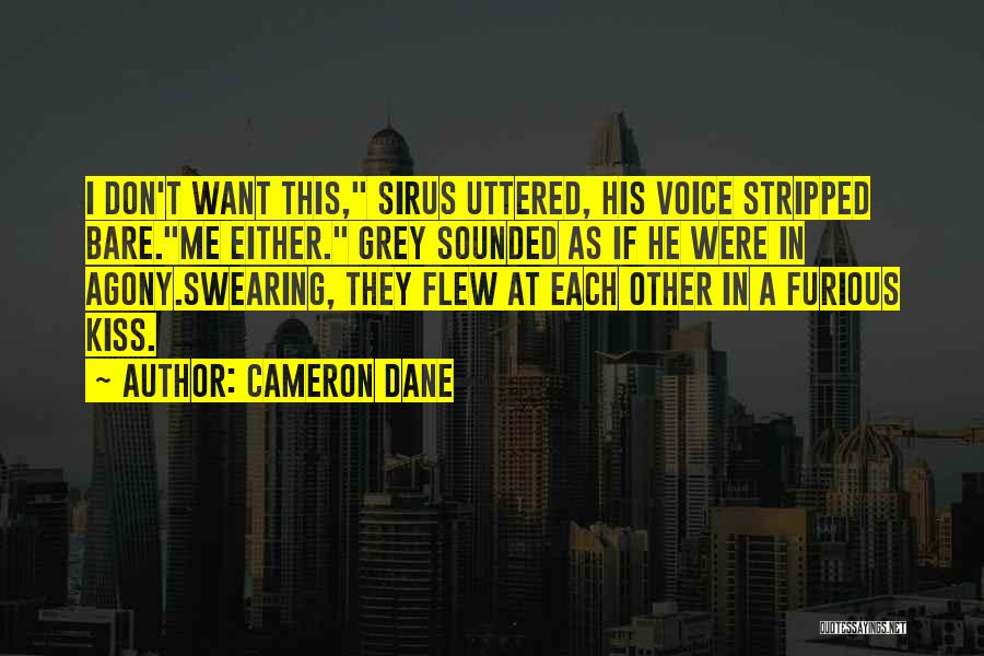 Swearing Love Quotes By Cameron Dane
