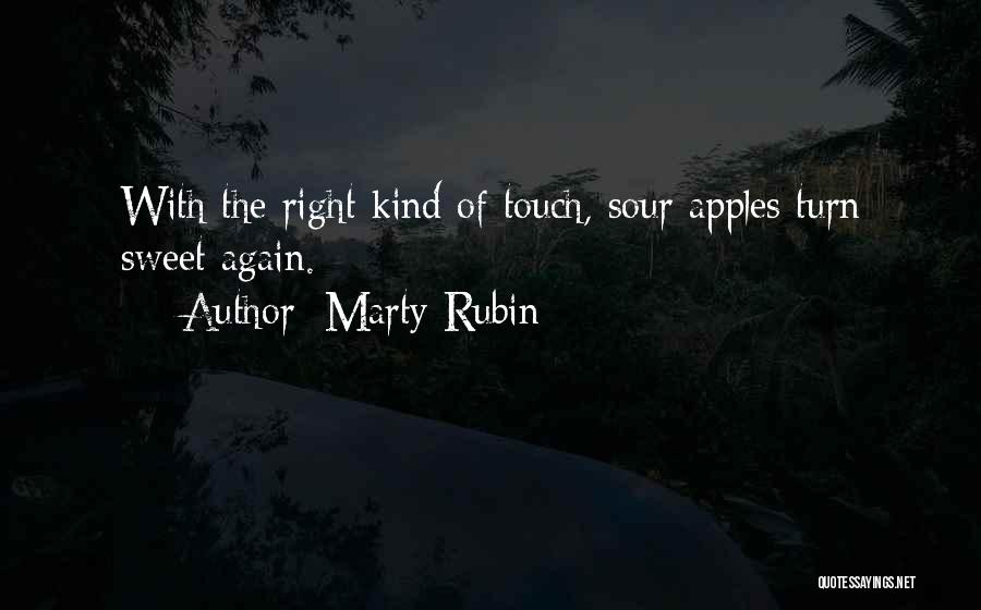 Sweet And Sour Love Quotes By Marty Rubin