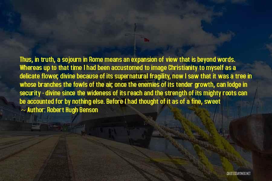 Sweet Aroma Quotes By Robert Hugh Benson