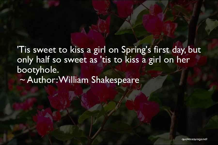 Sweet Kiss Day Quotes By William Shakespeare