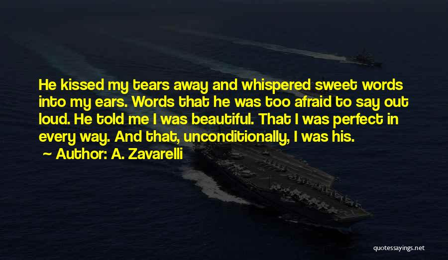 Sweet Love Words And Quotes By A. Zavarelli