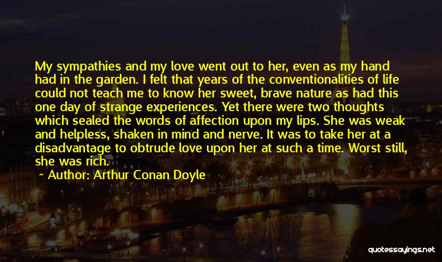 Sweet Love Words And Quotes By Arthur Conan Doyle