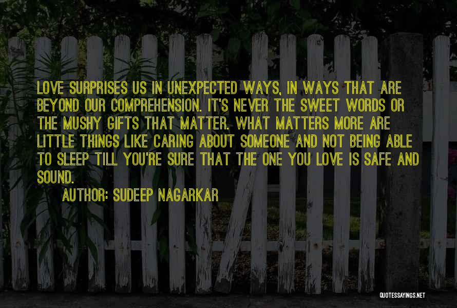 Sweet Love Words And Quotes By Sudeep Nagarkar