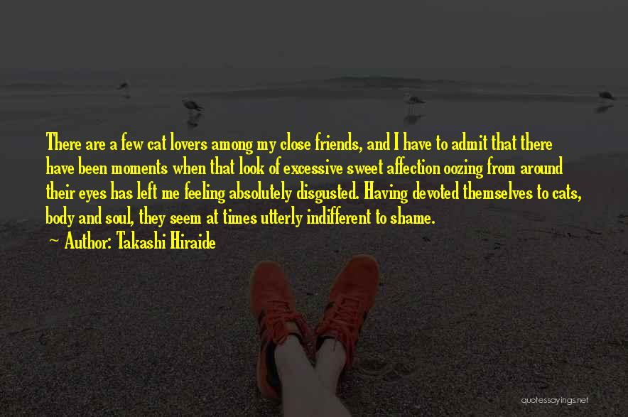 Sweet Moments With Friends Quotes By Takashi Hiraide