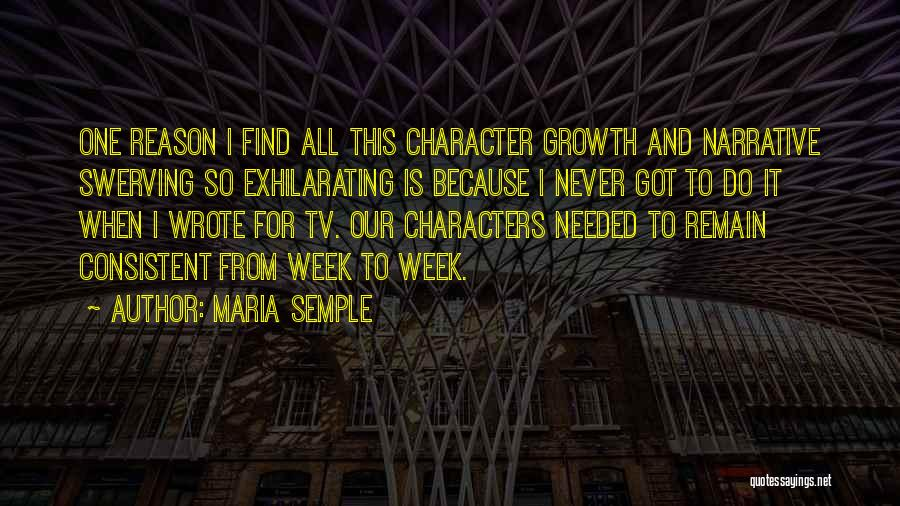 Swerving Quotes By Maria Semple