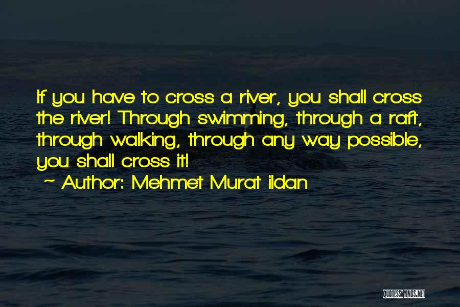 Swimming In The River Quotes By Mehmet Murat Ildan