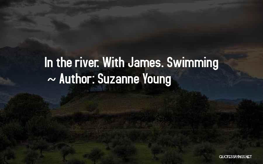 Swimming In The River Quotes By Suzanne Young