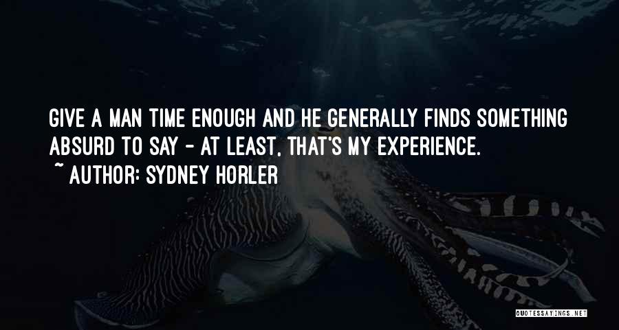 Sydney Horler Quotes 1389214