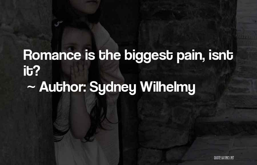 Sydney Wilhelmy Quotes 1584741