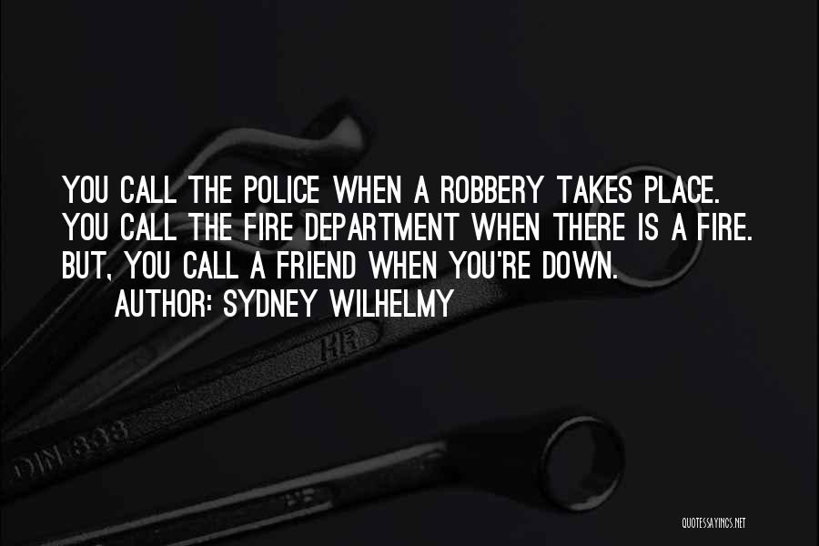Sydney Wilhelmy Quotes 244953
