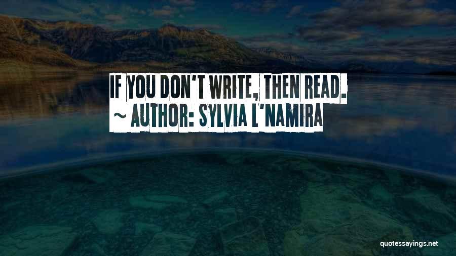 Sylvia L'Namira Quotes 2118231