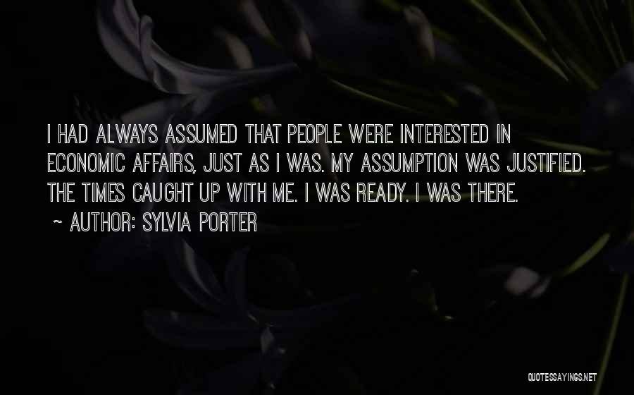 Sylvia Porter Quotes 1136236